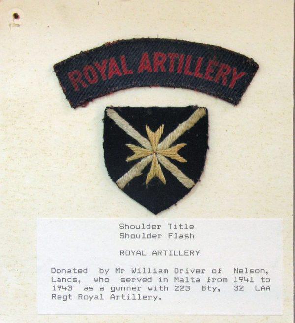 William Driver - Gunner LAA regiment Royal Artillery